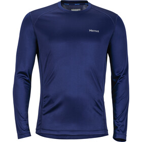 Marmot Windridge Maglietta a maniche lunghe Uomo blu